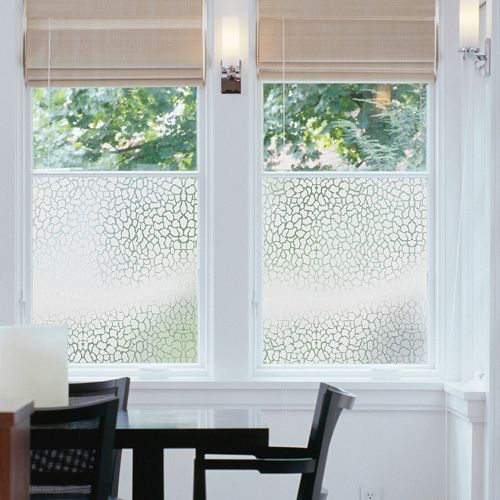 Decorative window film ideas for home office for Office window ideas